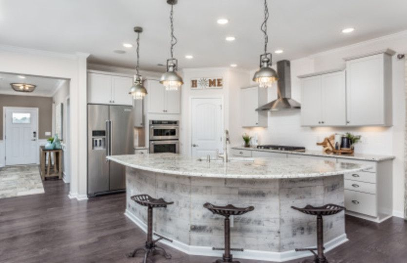 Kitchen featured in the Brookfield By Del Webb in Raleigh-Durham-Chapel Hill, NC
