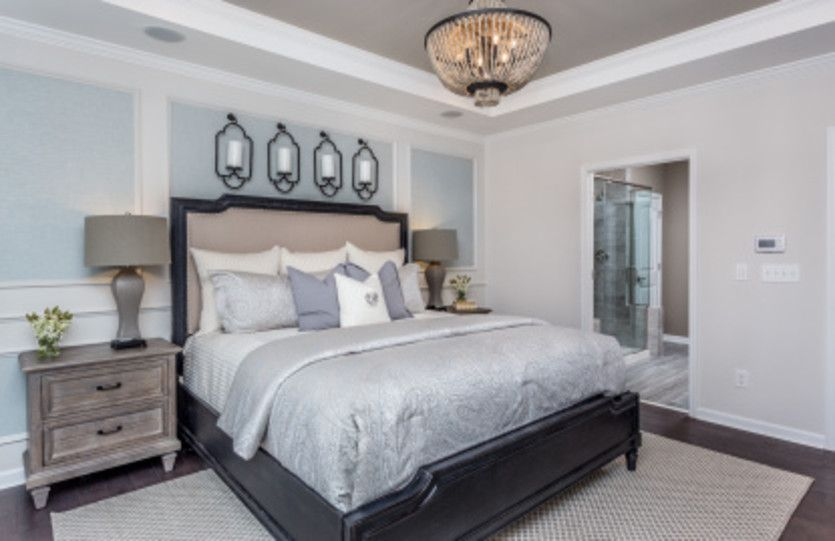 Bedroom-in-Brookfield-at-Del Webb at Traditions-in-Wake Forest