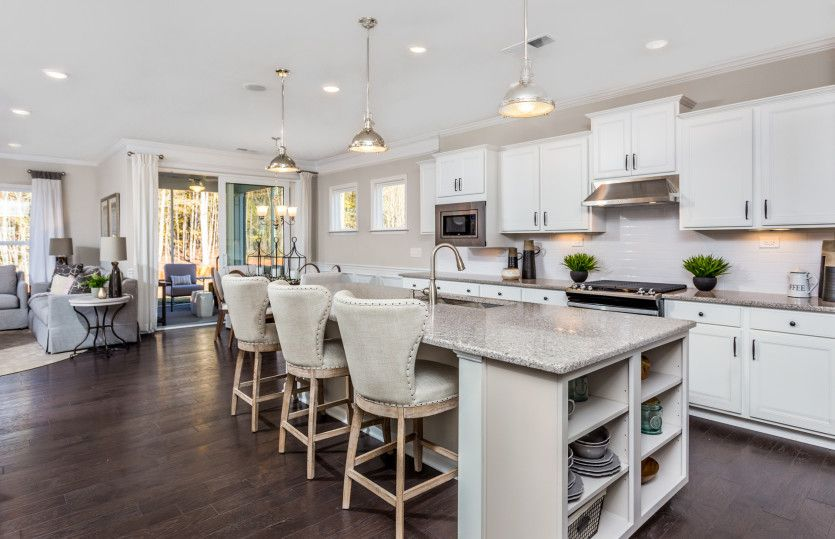 Kitchen featured in the Castle Rock By Del Webb in Raleigh-Durham-Chapel Hill, NC