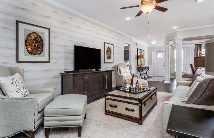 Living Area featured in the Napa Valley By Del Webb in Raleigh-Durham-Chapel Hill, NC