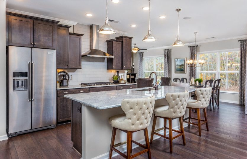Kitchen featured in the Napa Valley By Del Webb in Raleigh-Durham-Chapel Hill, NC