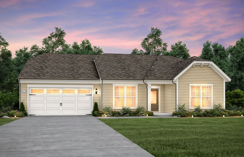 Exterior featured in the Candler By Del Webb in Raleigh-Durham-Chapel Hill, NC