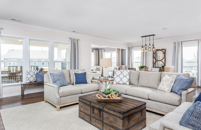 Living Area featured in the Candler By Del Webb in Raleigh-Durham-Chapel Hill, NC
