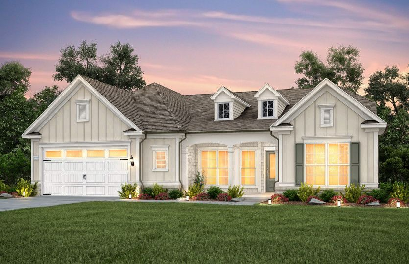 Exterior featured in the Sonoma Cove By Del Webb in Raleigh-Durham-Chapel Hill, NC