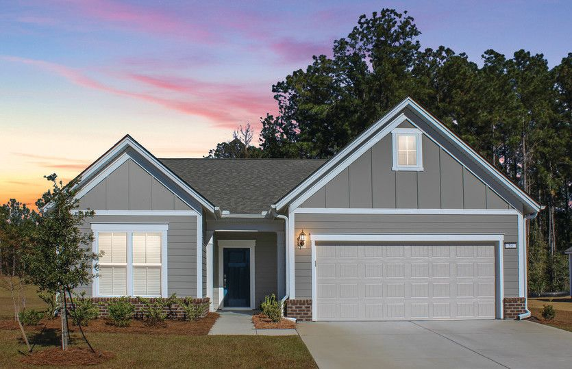 Exterior featured in the Abbeyville By Del Webb in Wilmington, NC