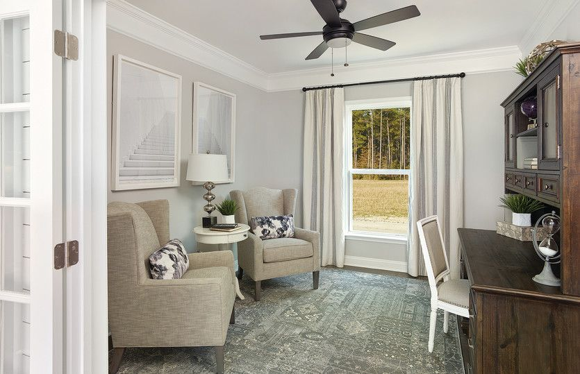 Living Area featured in the Summerwood By Del Webb in Wilmington, NC