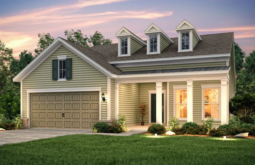 Exterior featured in the Martin Ray By Del Webb in Myrtle Beach, SC