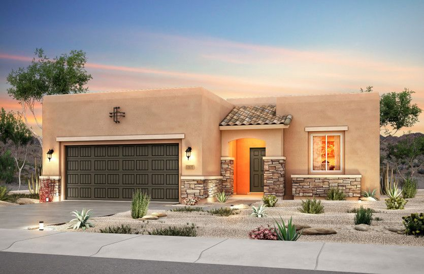 Exterior featured in the Sanctuary By Del Webb in Albuquerque, NM