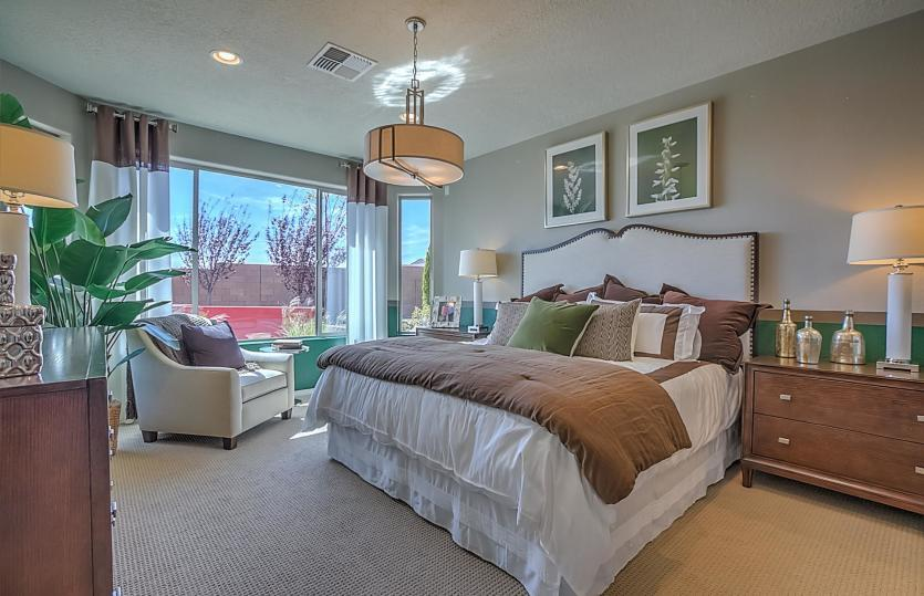 Bedroom featured in the Sanctuary By Del Webb in Albuquerque, NM