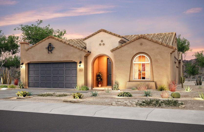 Exterior featured in the Haven By Del Webb in Albuquerque, NM