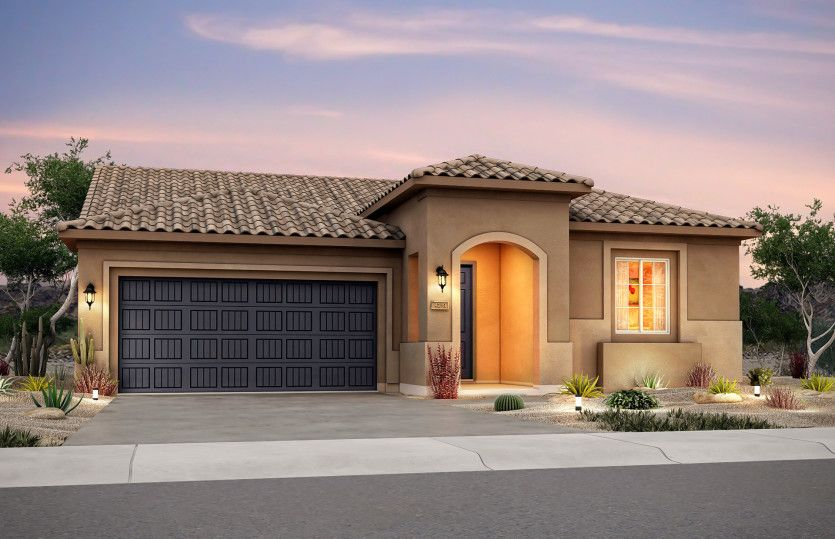 Exterior featured in the Preserve By Del Webb in Albuquerque, NM