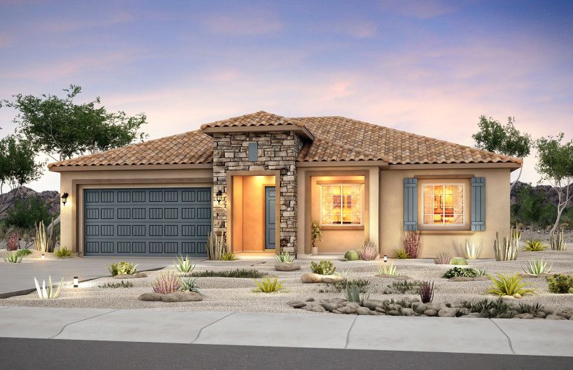 Exterior featured in the Pursuit By Del Webb in Albuquerque, NM