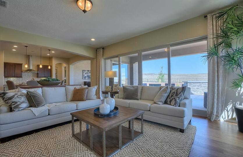 Greatroom-and-Dining-in-Serenity-at-Del Webb at Mirehaven-in-Albuquerque