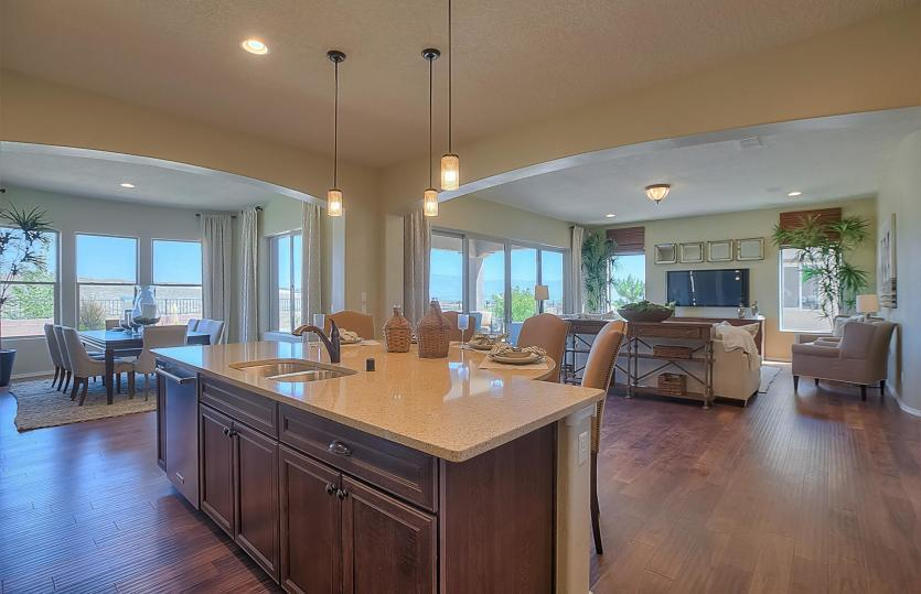 Living Area featured in the Serenity By Del Webb in Albuquerque, NM