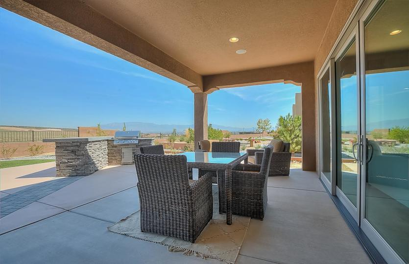 Exterior featured in the Serenity By Del Webb in Albuquerque, NM