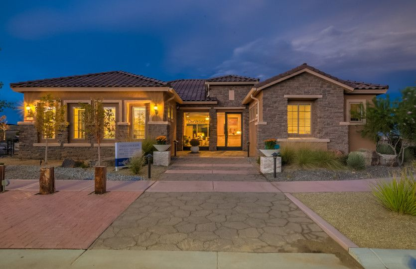 Exterior featured in the Endeavor By Del Webb in Albuquerque, NM