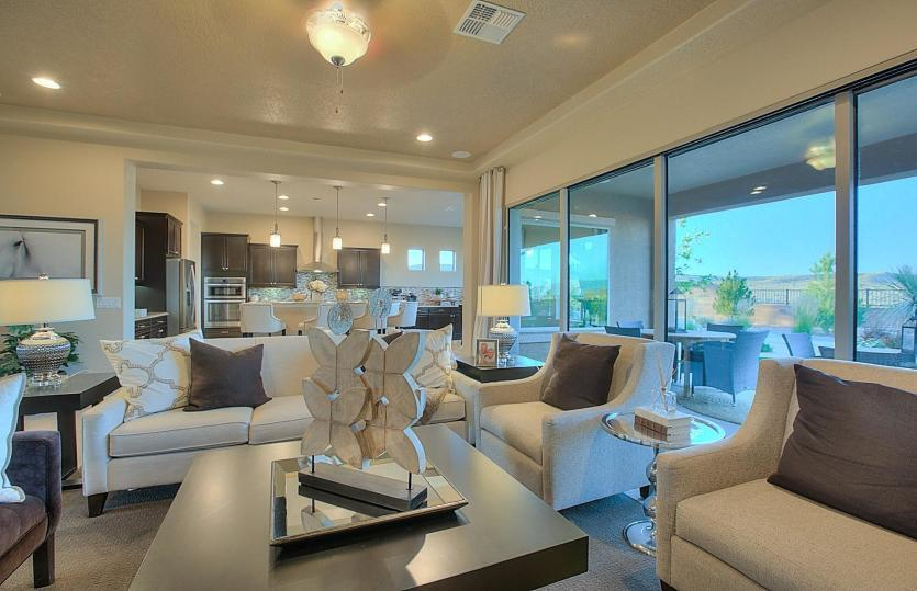 Living Area featured in the Endeavor By Del Webb in Albuquerque, NM