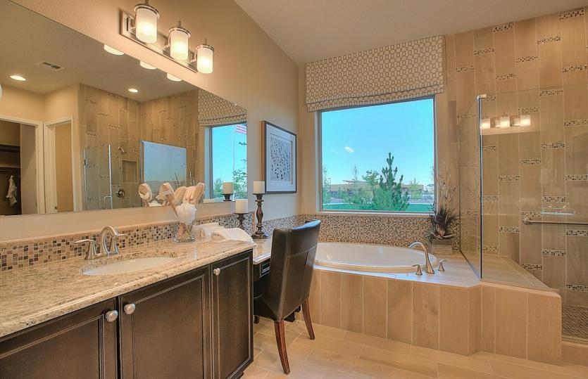 Bathroom-in-Endeavor-at-Del Webb at Mirehaven-in-Albuquerque