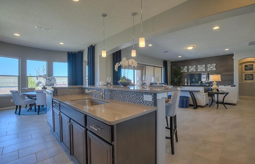 Greatroom-and-Dining-in-Journey-at-Del Webb at Mirehaven-in-Albuquerque