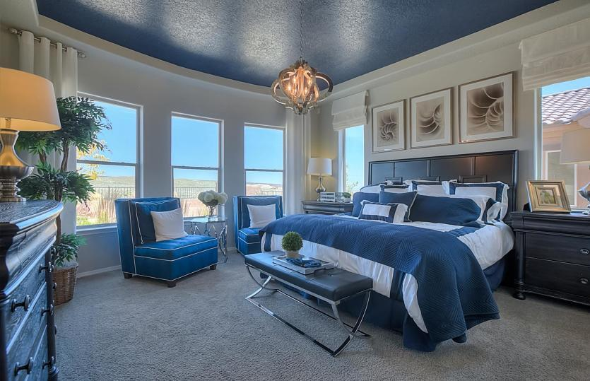 Bedroom featured in the Journey By Del Webb in Albuquerque, NM