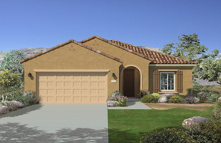 Exterior featured in the Sanctuary By Del Webb in Las Vegas, NV