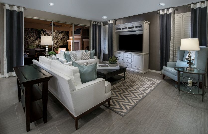 Living Area featured in the Sanctuary By Del Webb in Las Vegas, NV