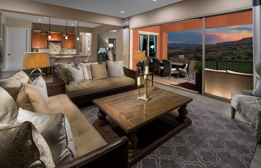 Living Area featured in the Serenity By Del Webb in Las Vegas, NV