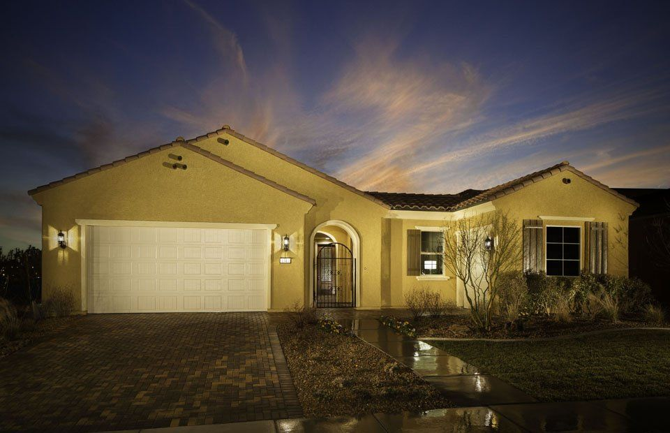 Exterior featured in the Journey By Del Webb in Las Vegas, NV