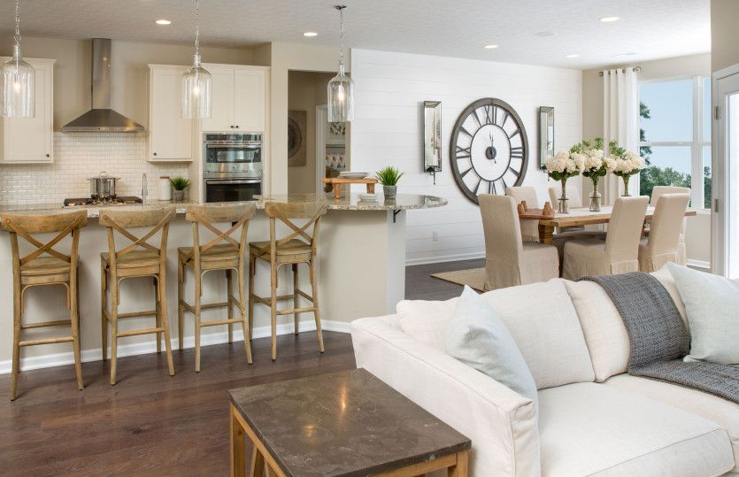 Living Area featured in the Ascend By Del Webb in Columbus, OH