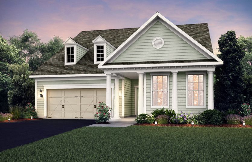Exterior featured in the Eastway By Del Webb in Columbus, OH