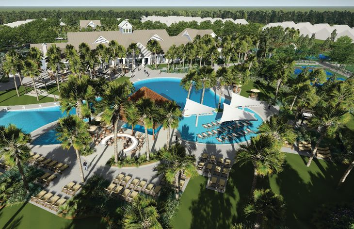 Resort Style Pool & Clubhouse