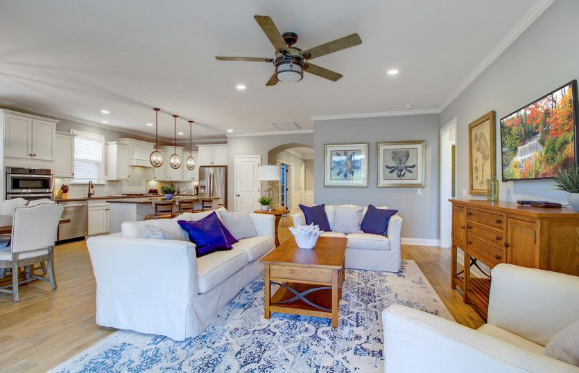 Greatroom-and-Dining-in-Abbeyville-at-Del Webb Charleston at Nexton-in-Summerville