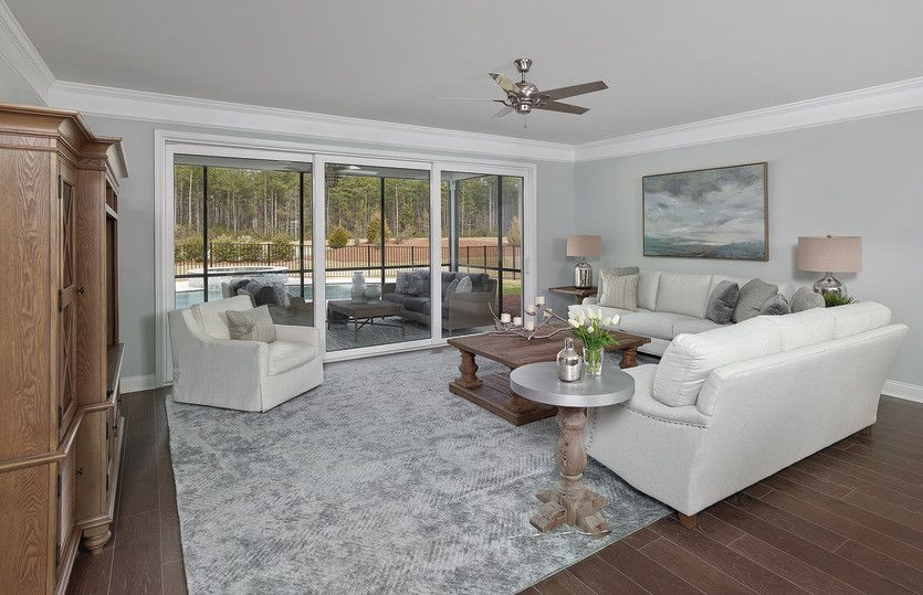 Living Area featured in the Sonoma Cove By Del Webb in Charleston, SC