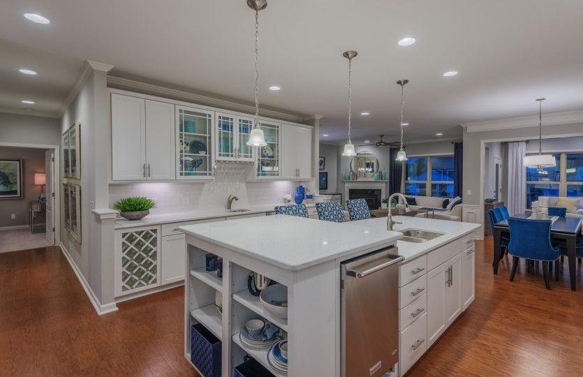 Kitchen featured in the Castle Rock By Del Webb in Charlotte, SC