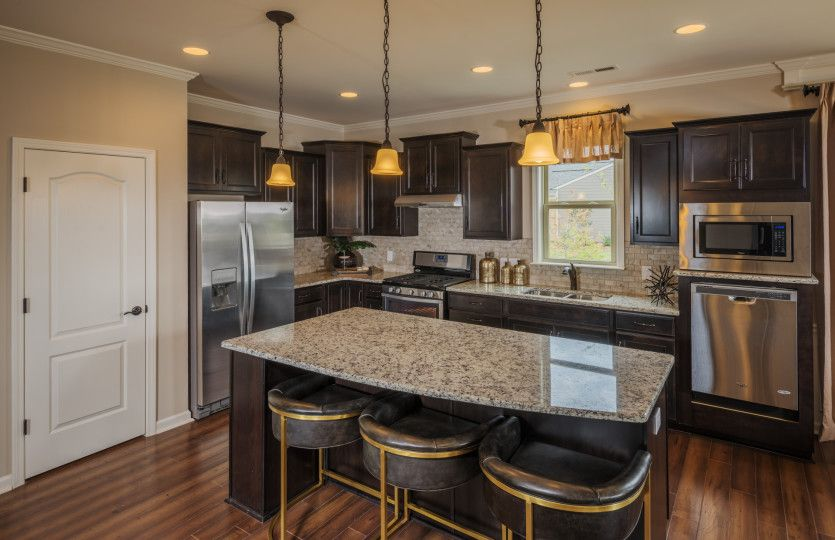 Kitchen featured in the Abbeyville By Del Webb in Charlotte, SC