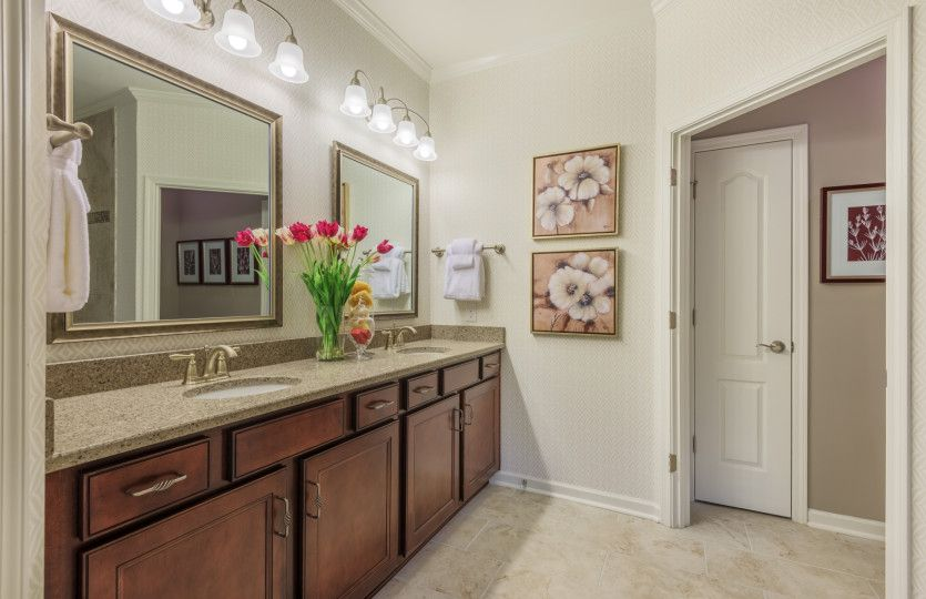 Bathroom featured in the Martin Ray By Del Webb in Charlotte, SC