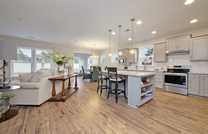 Greatroom-and-Dining-in-Abbeyville-at-Del Webb at Grande Dunes Myrtle Beach-in-Myrtle Beach
