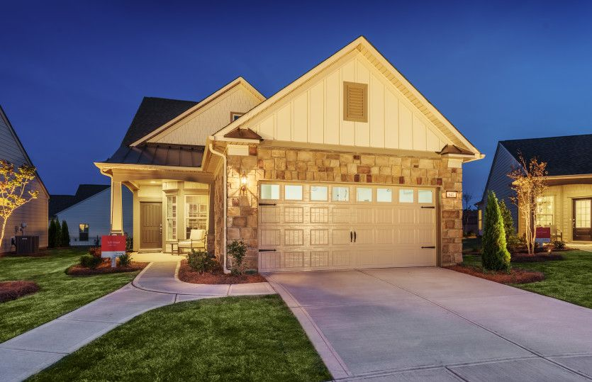 Exterior featured in the Passport - Taft Street By Del Webb in Nashville, TN