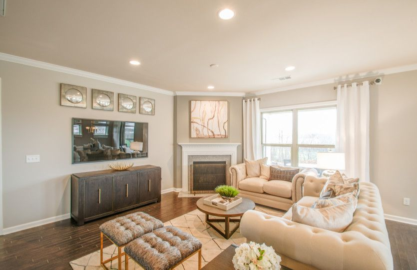 Living Area featured in the Expedition - Abbeyville By Del Webb in Nashville, TN