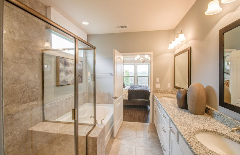 Bathroom featured in the Expedition - Abbeyville By Del Webb in Nashville, TN
