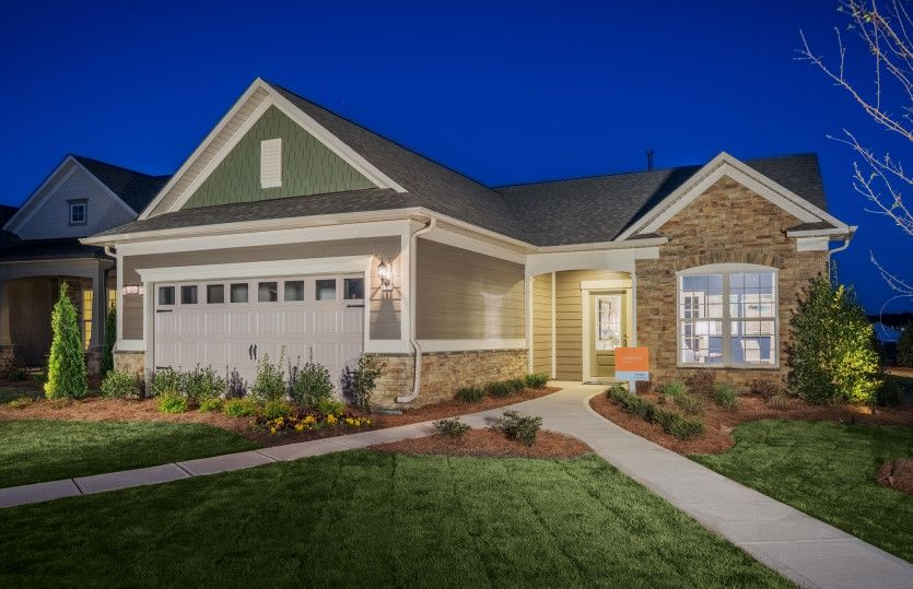 Exterior featured in the Expedition - Castle Rock By Del Webb in Nashville, TN