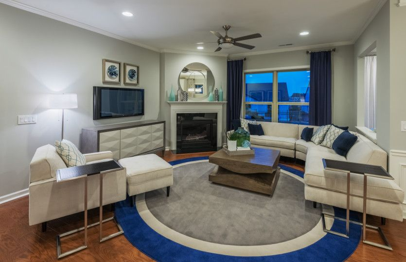 Living Area featured in the Expedition - Castle Rock By Del Webb in Nashville, TN