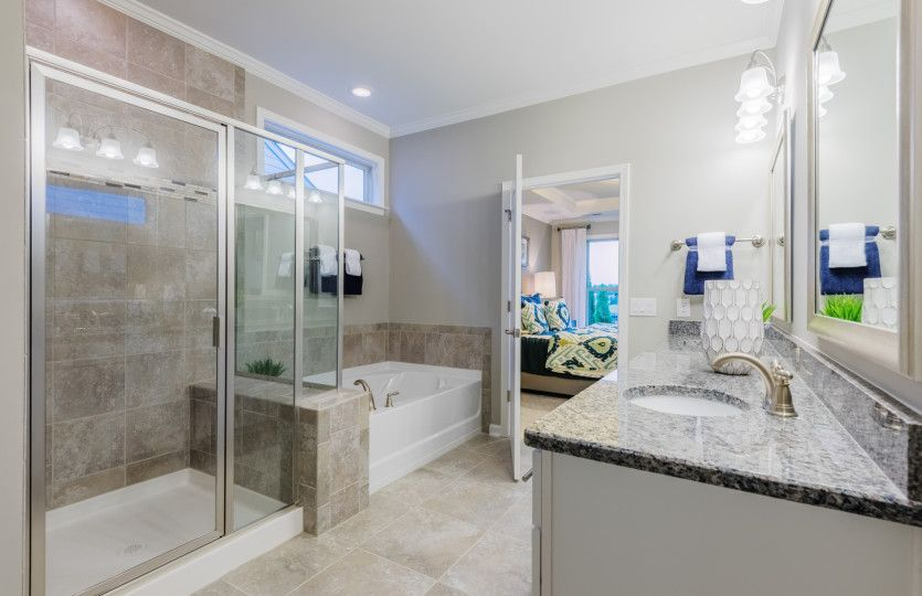Bathroom featured in the Expedition - Castle Rock By Del Webb in Nashville, TN