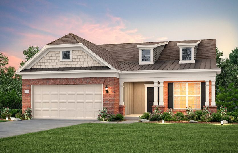 Exterior featured in the Expedition - Martin Ray By Del Webb in Nashville, TN