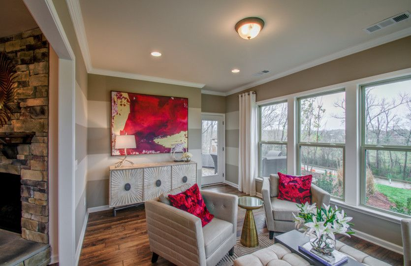 Living Area featured in the Expedition - Martin Ray By Del Webb in Nashville, TN
