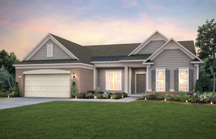 Exterior featured in the Pinnacle - Dunwoody Way By Del Webb in Nashville, TN