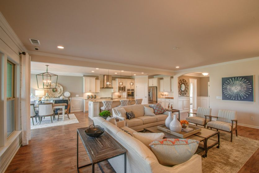 Living Area featured in the Pinnacle - Dunwoody Way By Del Webb in Nashville, TN