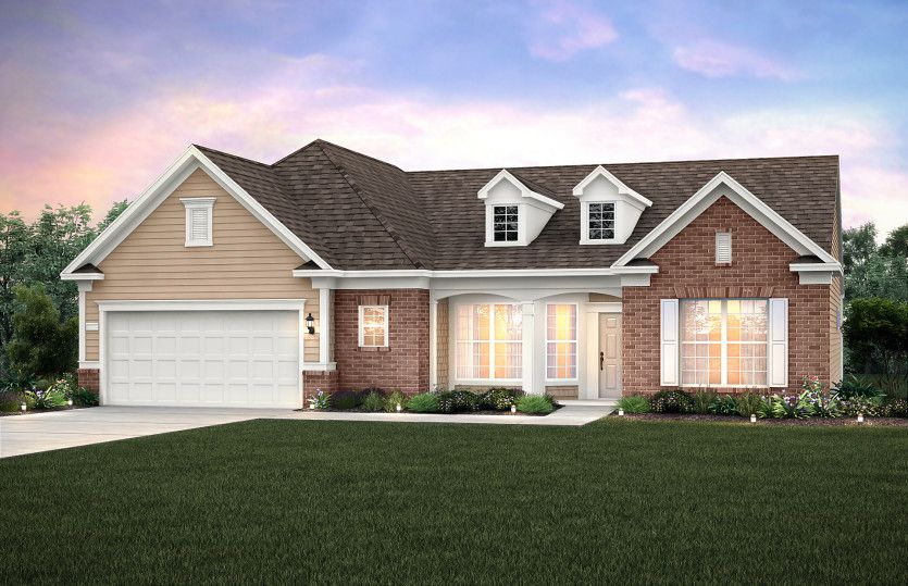 Exterior featured in the Pinnacle - Sonoma Cove By Del Webb in Nashville, TN