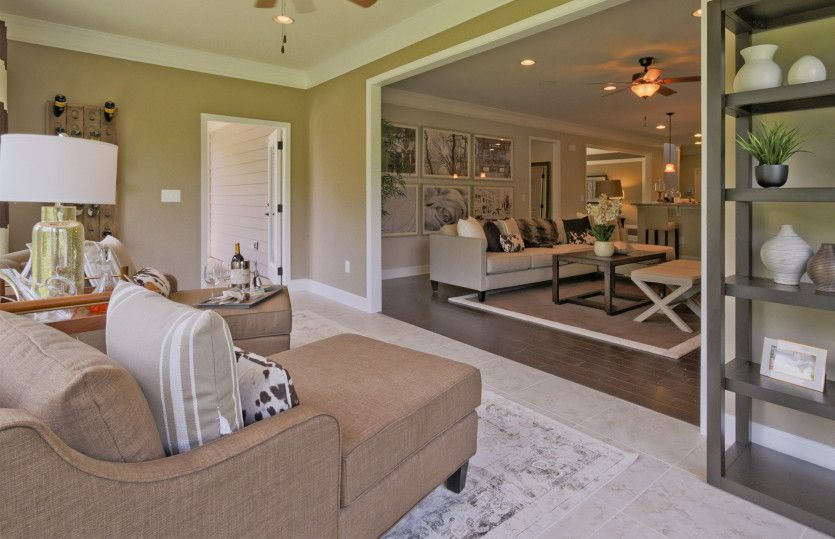 Living Area featured in the Pinnacle - Sonoma Cove By Del Webb in Nashville, TN