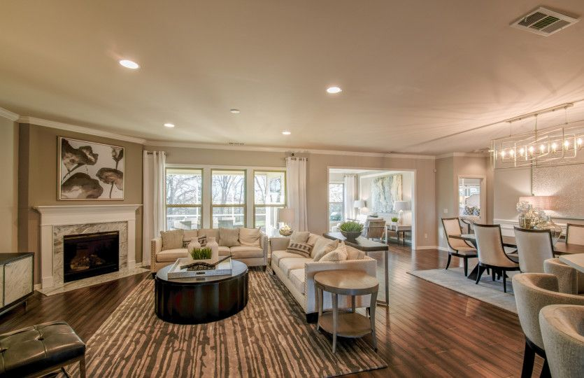 Living Area featured in the Pinnacle - Tangerly Oak By Del Webb in Nashville, TN